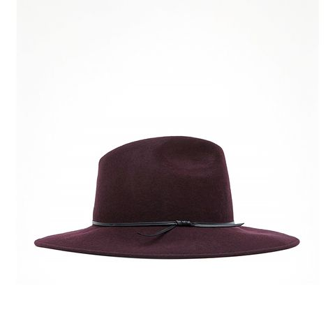 Mimi Wide Brim Trilby Hat
