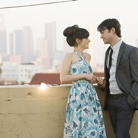 Tom and Summer in 500 Days of Summer