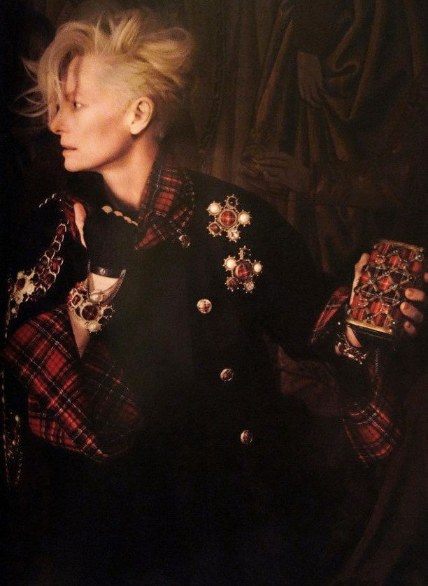 Tilda Swinton | Chanel Paris-Edinburgh 2013 Campaign