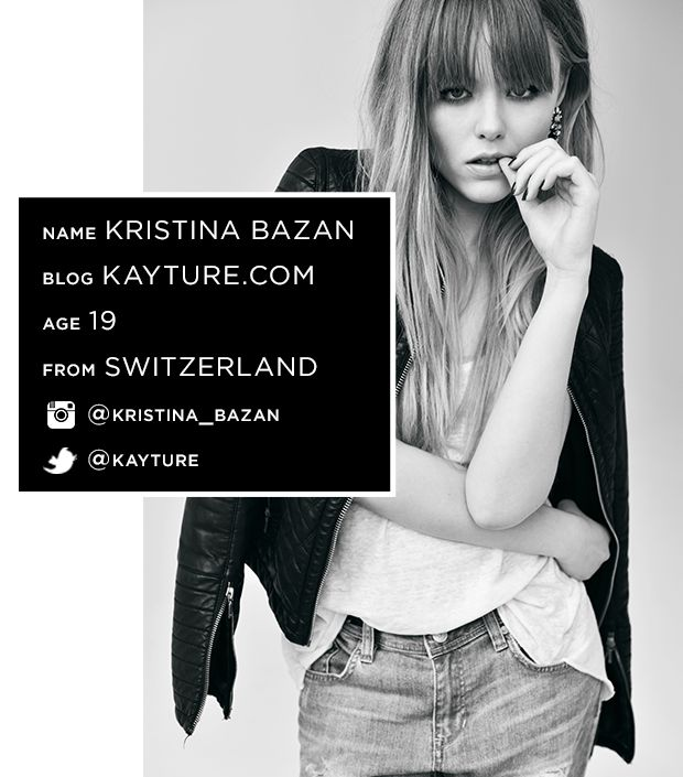 Meet Our Newest Obsession: Blogger Kristina Bazan