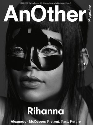 Rihanna Dons A Sexy Mask On The Cover Of AnOther Magazine