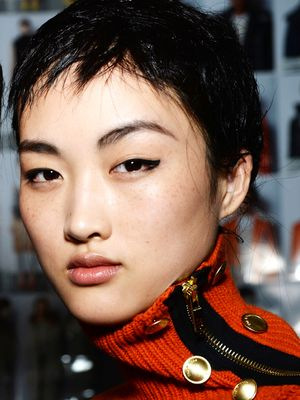 Spotted: A Cool New Way to Wear Black Eyeliner at Rag & Bone