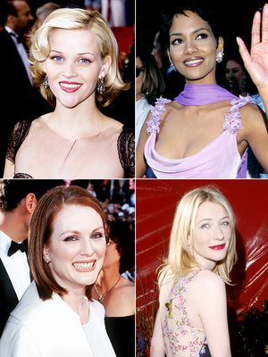 From Julianne to Reese: 12 Celebrities' First Oscar Beauty Looks