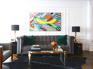 Home Tour: A New York Stylist's Cool Contemporary Home