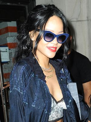 The Rihanna-Approved Way to Wear a Cardigan