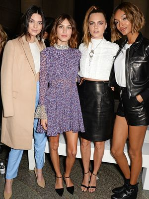 See Which Celebs Took THE Cutest Selfie at the Topshop Unique Show