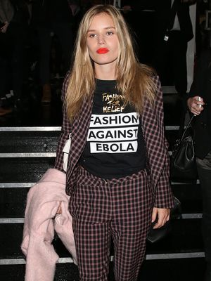 Georgia May Jagger is Well Suited in Vivienne Westwood