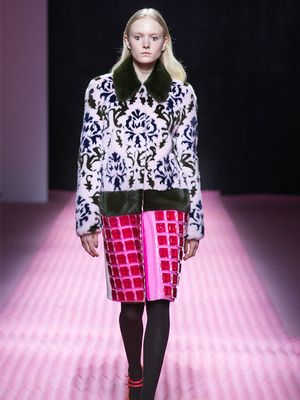 Mary Katrantzou Electrifies Victorian Era Standbys for F/W 15