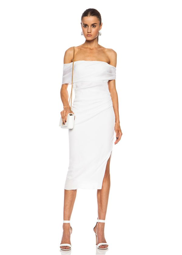 Beyond the ball gown white dresses you 39 ll wear long after for White dress after wedding
