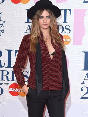Cara, Kim, Karlie, and More: The Best Looks from the Brit Awards