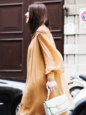 An Unexpected Dress and Boots Combination We're Dying to Try