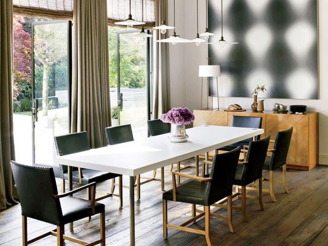6 essentials for a sleek contemporary dining room mydomaine for Dining room essentials
