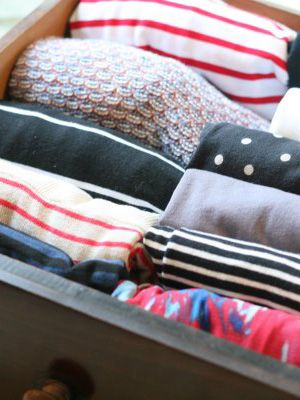 How to Fold the Perfect Underwear Drawer with Marie Kondo