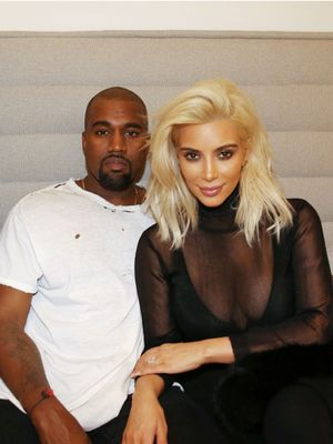 Kim Kardashian Says Madonna Inspired Her Newly Blond Hair