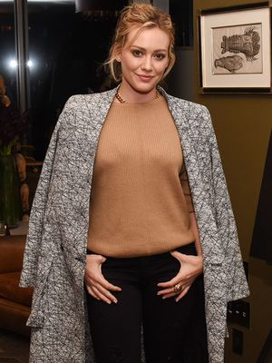 The Up-and-Coming NYC Brand Behind Hilary Duff's Chic Coat