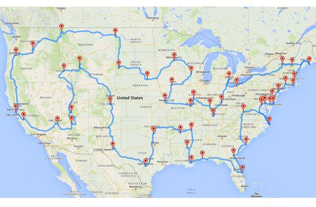 How to Visit Every Major U.S. Landmark in Less Than 10 Days
