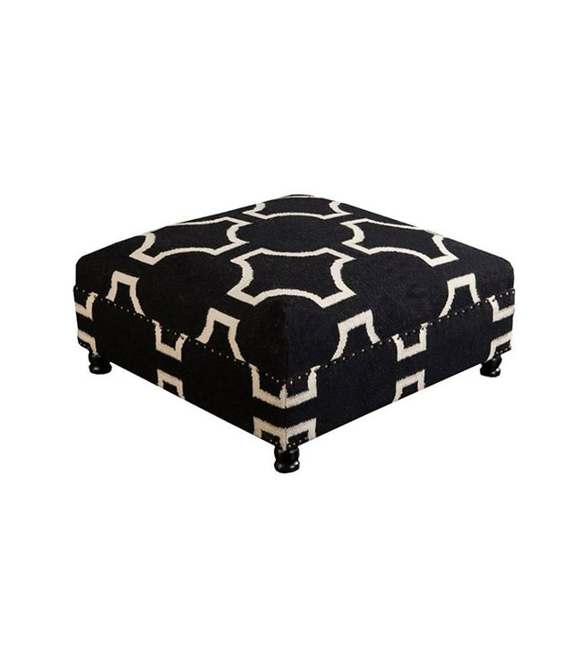 The Chicest Ottomans For Your Living Room Mydomaine