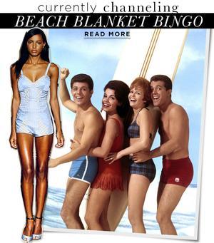 How To Get The Retro Look In Beach Blanket Bingo