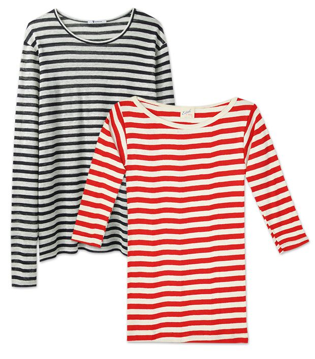 The Simply Chic Stripe Tees We Have Our Eye On This Summer