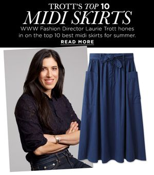10 Stylish Midi Skirts With The Editor Stamp of Approval