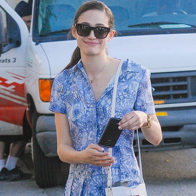 You Won't Believe How Affordable Emmy Rossum's Spring-Ready Bag Is