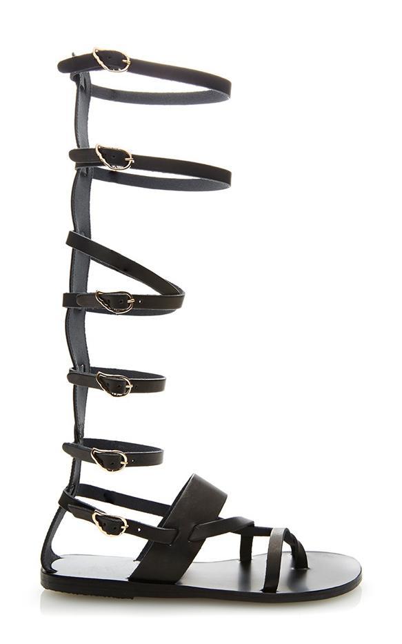 Tuesdayshoesday 7 Lace Up Black Gladiator Sandals