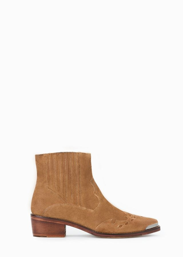 Practical Ankle Boots: Mango