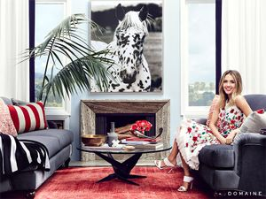 Exclusive: Tour Jessica Alba's Gorgeous Guesthouse