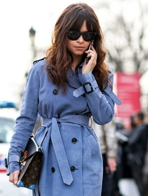 Miroslava Duma Reimagines The Trench Coat