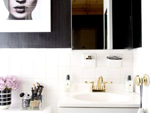 Before and After: A Tiny NYC Rental Bathroom