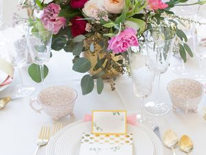 Inside a Top Fashion Blogger's Elegant Baby Shower