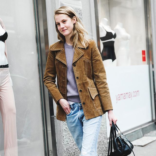 How to Wear Suede When It's Warm Out