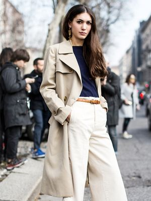 How to Give Your Wide-Leg Pants the Cool-Girl Treatment