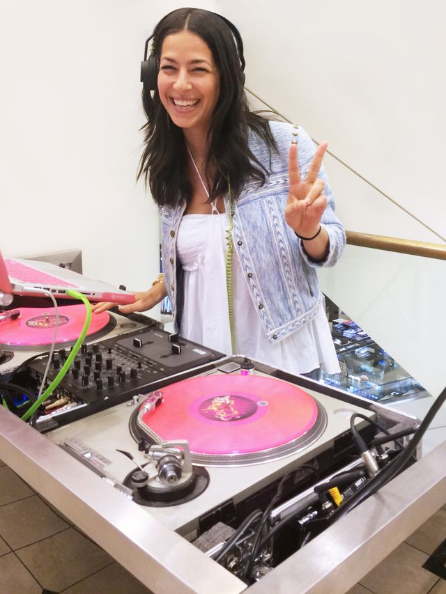 exclusive rebecca minkoff to launch her new dj career at coachella whowhatwear. Black Bedroom Furniture Sets. Home Design Ideas