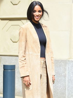 Ciara Masters Spring's Biggest Trend with Luxe Look