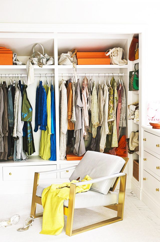 Give your closet a thorough cleanout seasonally at the very least. Overwhelmed? Start here.