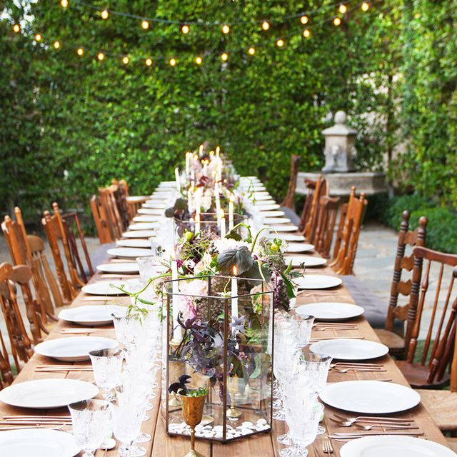 The Most Enchanting Alfresco Dinner Parties