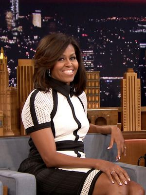 Shop Michelle Obama's Awesome Graphic Dress From Last Night