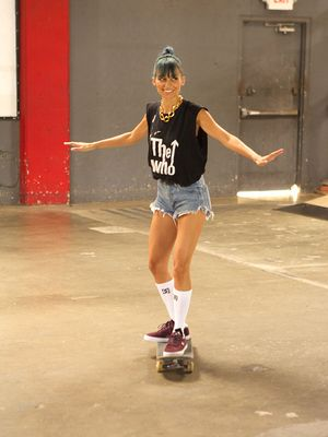 Watch Nicole Richie Buddy Up to a Skater Boy