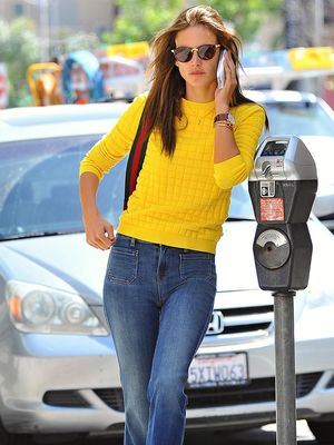 Shop Alessandra Ambrosio's Under $100 Sweater Before It Sells Out