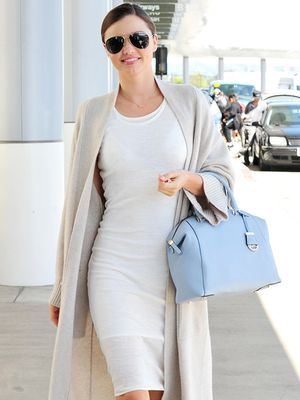 Get Miranda Kerr's Polished Airport Style