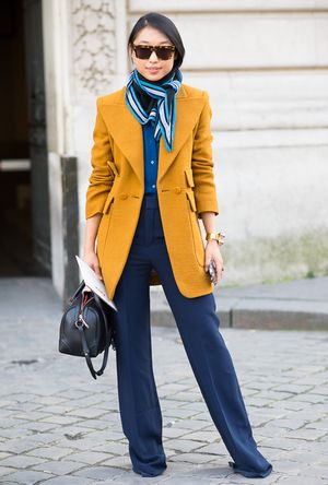 What to Pair With a Brightly-Colored Blazer