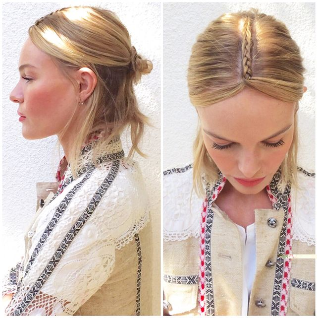 Kate Bosworth's Next-Level Braid Proves She's the Festival Queen