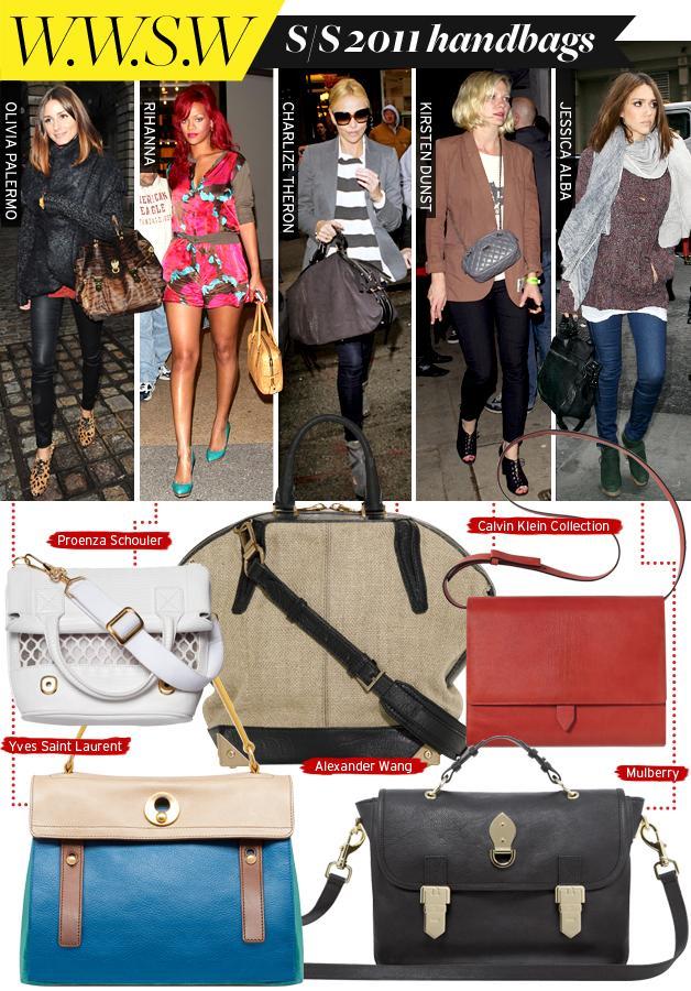 Spring 11 Handbags