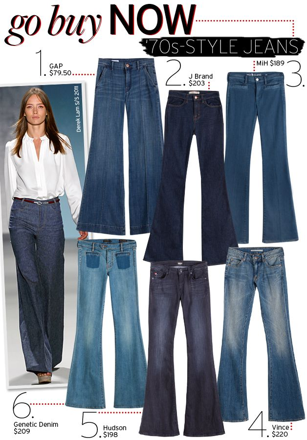'70s-Style Jeans