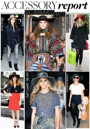 Big-Brimmed Hats