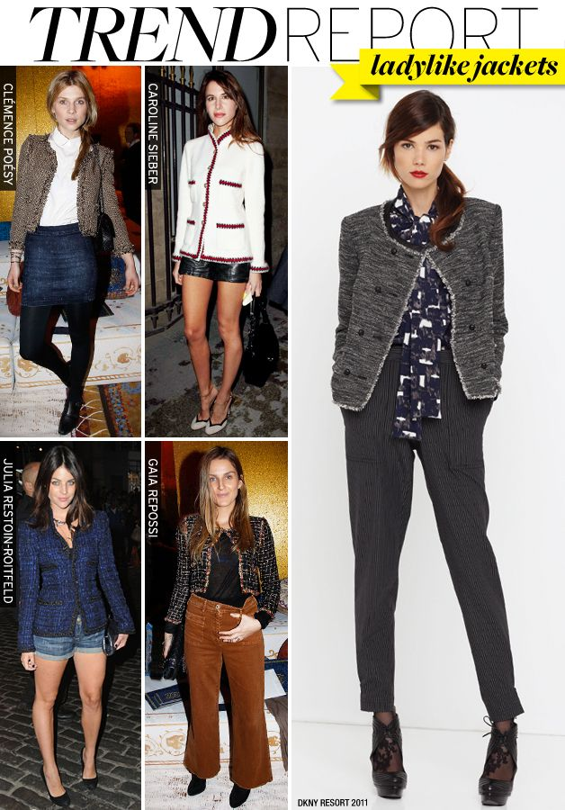 Ladylike Jackets