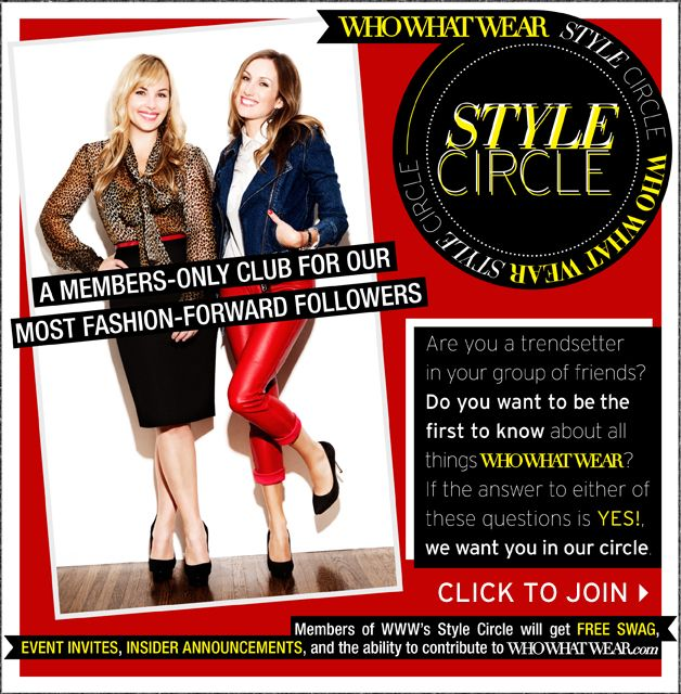 Who What Wear's Style Circle