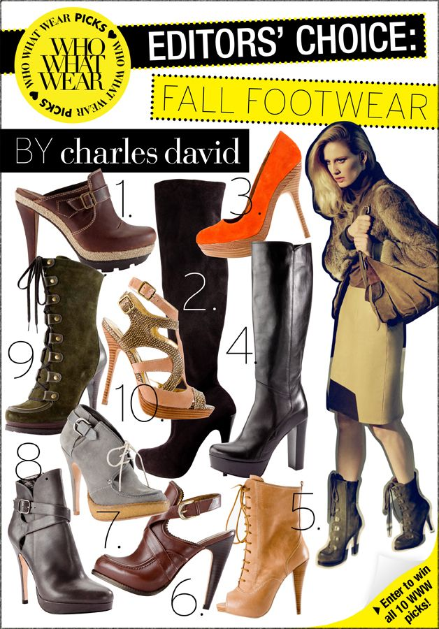 Fall Footwear by Charles David - Dedicated Email