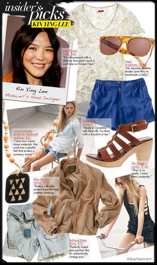 Madewell's Kin Ying Lee